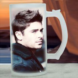 Personalised Frosted Mug