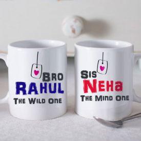 personalized tea mug