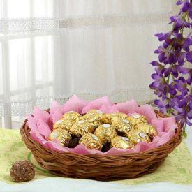 Ferrero Rocher Chocolates basket