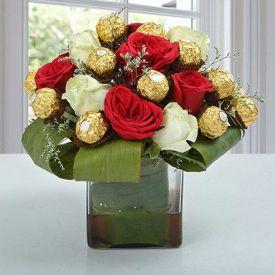 Choco Flower Arrangement