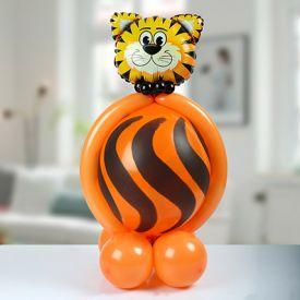 Cute Tiger Balloon Arrangement