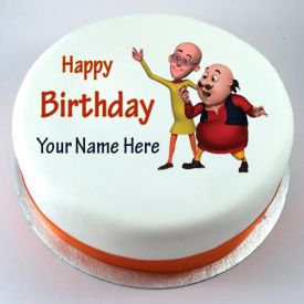 motu and patlu designer cake