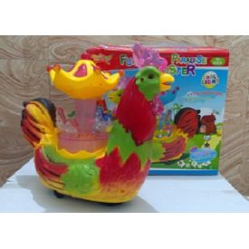 Funny paradise rooster