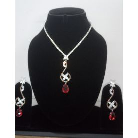 Pendant Set(red)