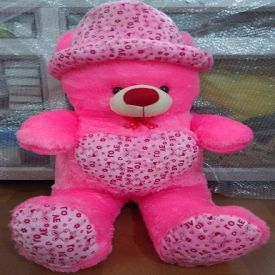 Big Pink Teddy Bear