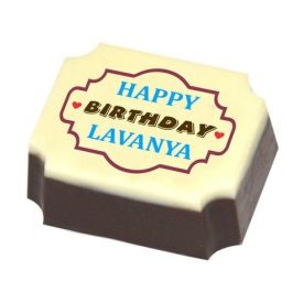 Birthday Personalized Chocolate