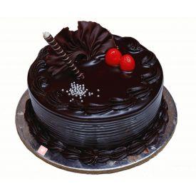 Royal chocolate truffle cake