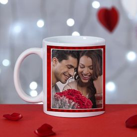 Romantic personalize ceramic mug