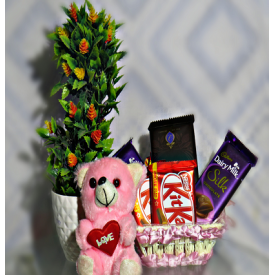 X-mas Tree with chocolates