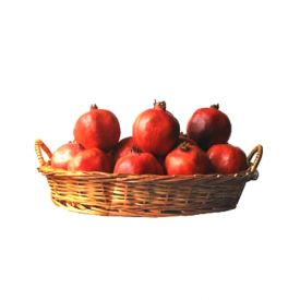 Pomegranate with Basket