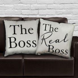 Boss Printed Cushion