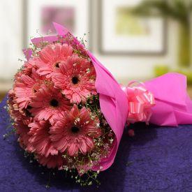 Pinky Gerbera Bouquet