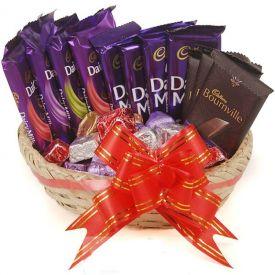 Mixed Chocolates Basket