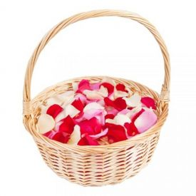 Basket Of Mixed Petals