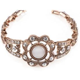 Crystal Gold-plated Bracelet