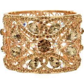 Crystal Bracelet Gold plated