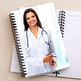 Doctor's Spiral note book
