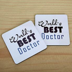 World's Best Doctor Coasters