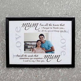 Personalized Photo Frame for Mom