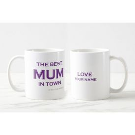 Personalised Mom's The Best