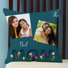 Best Mom Personalized Cushion
